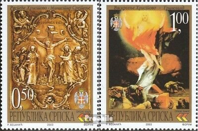 Serbian Republic bos.-h 267-268 mint never hinged mnh 2003 Easter