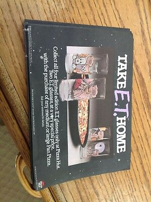 Et Pizza Hut Extra Terrestrial Universal Place Mats One Pair or Two Mats