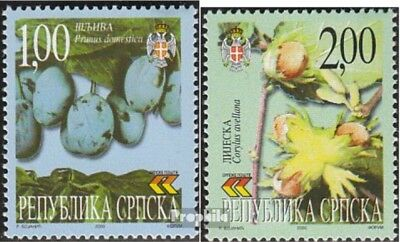 Serbian Republic bos.-h 160-161 mint never hinged mnh 2000 Locals Flora