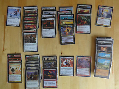 """Magic, the Gathering - komplettes Deck """"Burning Army"""""""