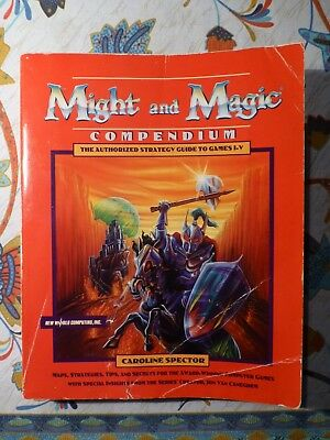 Might and Magic Compendium - Guidebook for MM III / IV / V by C. Spector
