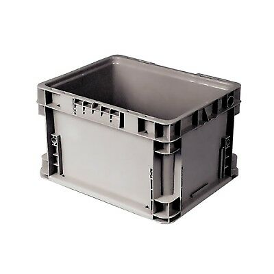 """12"""" L x 15"""" W x 7-1/2"""" Hgt. Gray Reusable Container"""