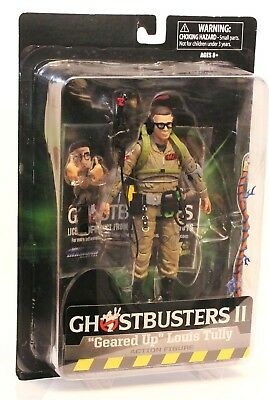 """Ghostbusters II """"Geared Up"""" Louis Tully Action Figure by Diamond ST - New in Box"""