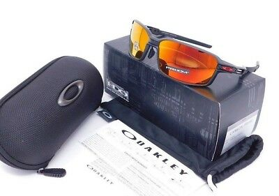 Oakley CARBON PRIME Sunglasses OO6021-0363 Carbon Fiber/ Ruby Iridium Polarized