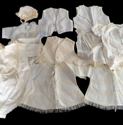 10 Pieces Of Vintage Baby/Doll Clothing