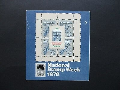 Australian Decimal Stamps: Early Minisheets (MNH) - Excellent Item (F1050)