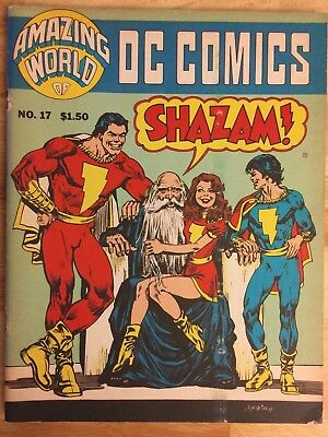 AMAZING WORLD OF DC COMICS #17 (DC Comics, April 1978)-Pro-zine-VG