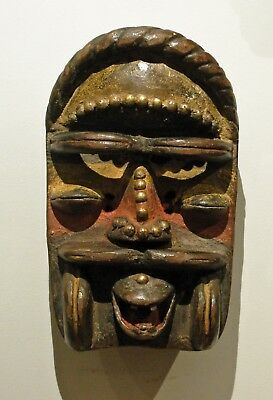 Old African Laughing We / Guere / Frahn Mask, Cote D'Ivore / Liberia.
