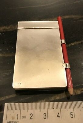 Antique Imperial Russian 875 Silver Aide Memoir Or Notebook
