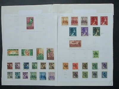 ESTATE: Egypt Collection on pages Part 3 - great item (7823)