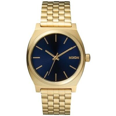 Nixon Time Teller Homme Montre - All Light Gold Cobalt Une Taille