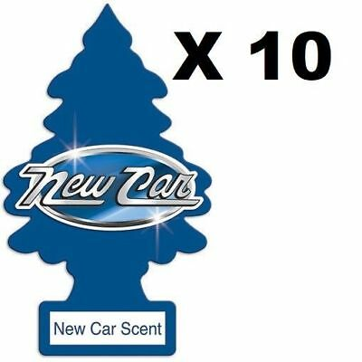 10X New Car Scent Little Trees Air Fresheners Taxi Car Truck Fragrance Freshener
