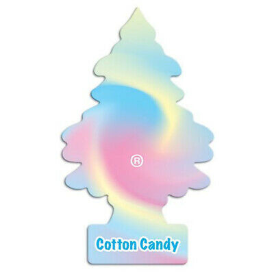 Little Trees Cotton Candy Air Fresheners Freshener Scent Car Taxi Truck Uber