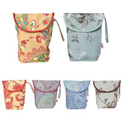 Waterproof Reusable Baby Infant Cloth Diaper Nappy Pouch Zipper Wet Dry Bag Tote