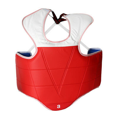 Boxing Vest Chest Guard MMA Belly Shoulder Pad Training Sparring Gear Pad