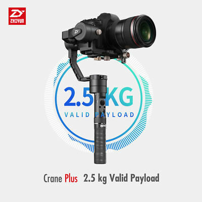 Zhiyun Crane Plus (3-Axis Stabiliser Intelligent Gimbal) *AUTHORISED DEALER*