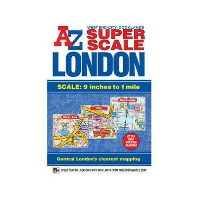 Super Scale London Street Atlas by Geographers' A-z Map Company (author)