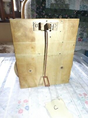 Antique / Vintage Grandfather Clock movement - spares & repairs - C