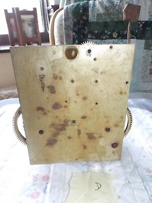 Antique / Vintage Grandfather Clock movement - spares & repairs - D
