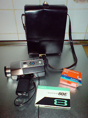 Yashica SU-60 E Super-60 Electronic DX Electric Zoom f: 1.8  F: 8-48 mm Tasche