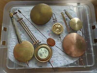 Antique / Vintage clock pendulum / bob - spares & repairs