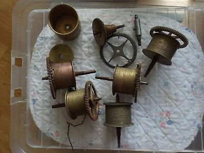 Antique / Vintage clock parts - spares & repairs