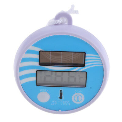Digital Floating Pond/Pool Thermometer - Solar Powered for Swimming Pool