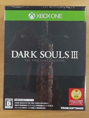 DARK SOULS III THE FIRE FADES EDITION - XboxOne Japan