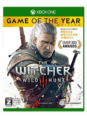 """Witcher 3 Wild Hunt Game of the Year Edition [CERO rating """"Z""""] - XboxOne Japan"""
