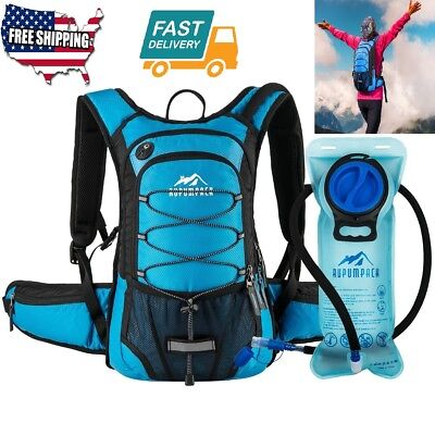 Outdoor Sport Insulated Hydration Backpack Pack BPA 2L Water Bladder Camping Fit