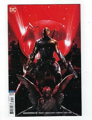 Deathstroke # 32 Mattina Variant Cover NM DC