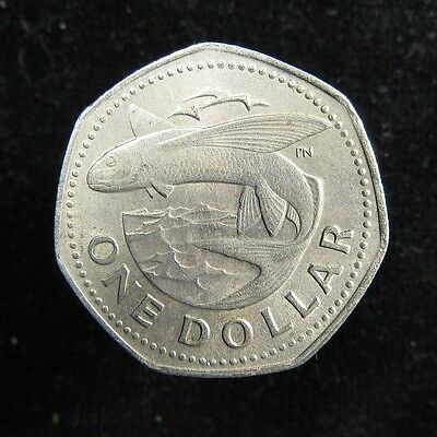 Barbados Dollar 1973 Flying Fish