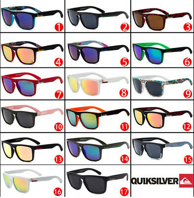 Fashion QuikSilver Colorful Vintage Retro Men Women Outdoor Sunglasses Eyewear