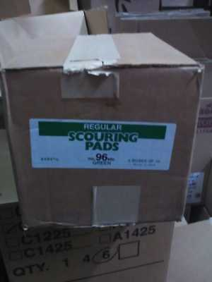 Green Scouring and Scrubbing Pad (case of 60)