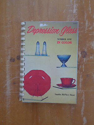 Depression Glass Number One In Color by Sandra McPhee Stout SC 1970