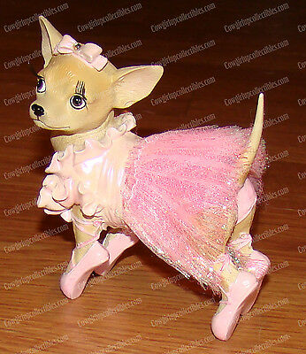 Ballerina Pup (Aye Chihuahua Collection by Westland Giftware, 13327) Dancer