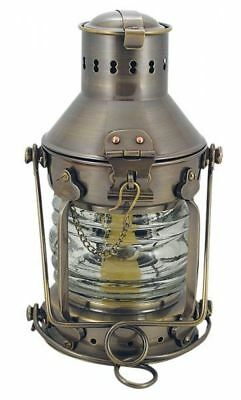 G4011: Anchor Lamp,Petroleum Lamp Nautical Lamp Ship Lantern, Antique Brass