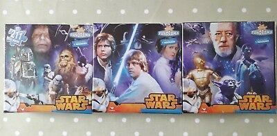 Bulk Lot 12 Packs Of Star Wars 3 Pack Jigsaw Puzzles Panorama 211 Total Pieces