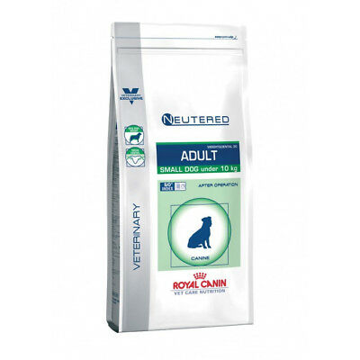 Croquettes Royal Canin Veterinary Care Neutered Adulte Small Dog Weight et Denta