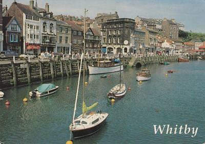Colour Photo Postcard - View From The Swing Bridge, Whitby (Yorks)