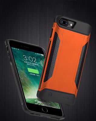 External Power Bank Battery Pack Charger Armor Case for iPhone 6s 7 8 plus