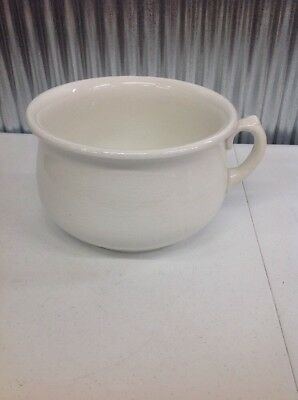 Antique ~ Victorian ~ Chamber Pot ~ Homer Laughlin ~ Stamped