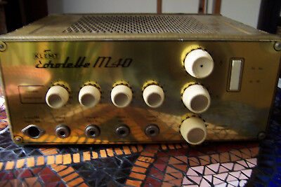 Klemt Echolette M-40 Amp Head Late 1962/Early 1963 *EX. CONDITION-JUST SERVICED*