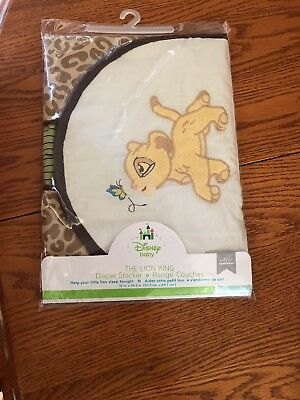 Disney Baby The Lion King Diaper Stacker  New in original package