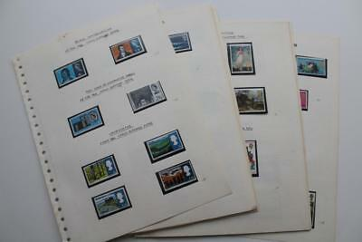 GB - A MNH Stamp Collection from 1966-70 Lots of Sets