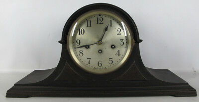 "Antique 1920's Seth Thomas ""Cymbal No. 8"" Tambour Case Mantle Shelf Clock NR yqz"