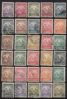 BARBADOS 1938-47 Group of 30 Very Fine Used Good Quality Sound  & Collectable