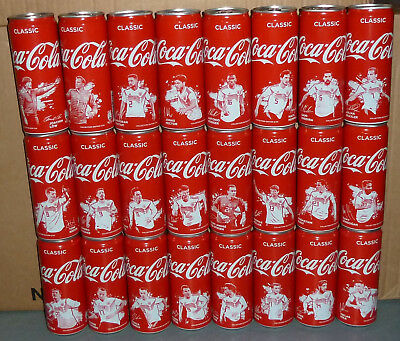 rare COCA-COLA Coke FIFA WORLD CUP 2018 soccer players can SET cans GERMANY