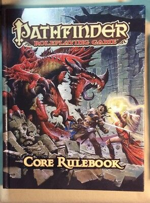 Pathfinder Role Playing Game Core Rulebook by Jason Bulmahn (2009, Hardcover)