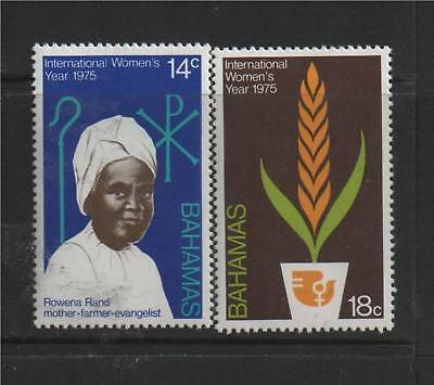 Bahamas 1975 Int. Womens Year SG 449/50 MNH